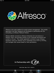 alfresco ecm ios ipad iphone app from ziaconsulting