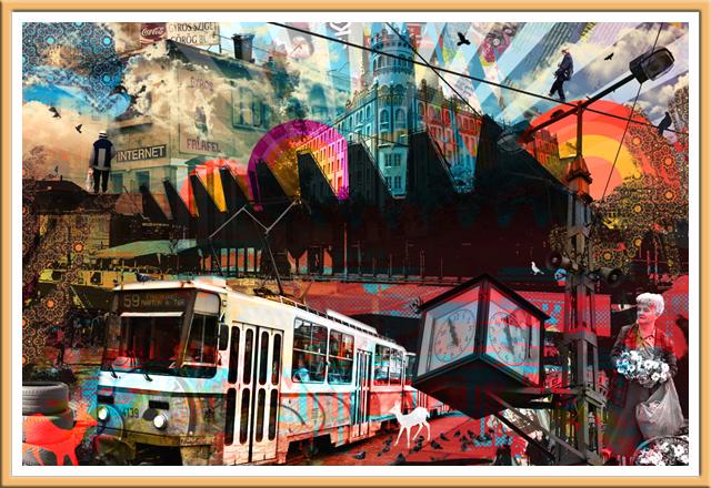 Tram - Budapest, Hungary