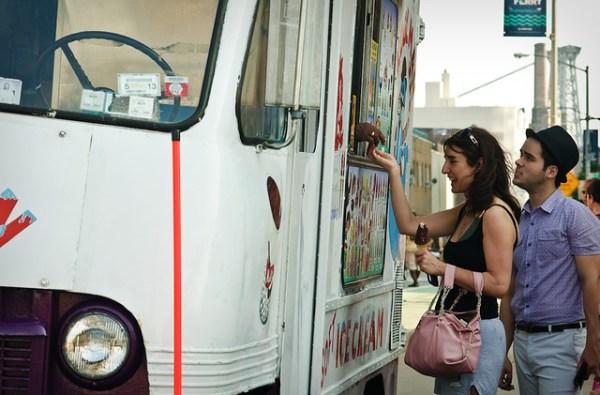 191/365 - Kool Man Ice Cream Truck, Kent Ave, Williamsburg.