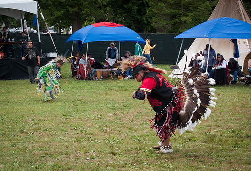 Aboriginal Dancers at Fusion Fest