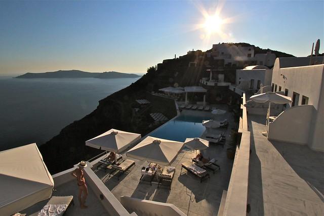 Hôtel San Antonio, Santorin, Grèce