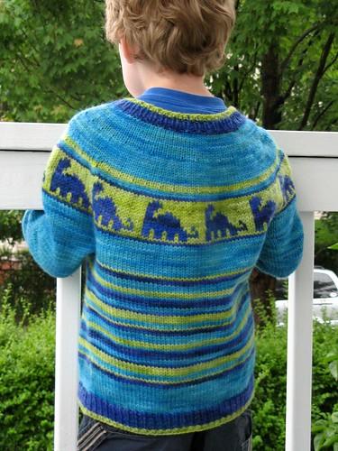 2451 J's dino sweater