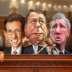 The Republican House Leadership - Caricatures
