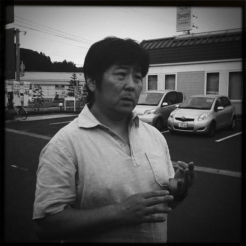 Washiyama-san, safecast volunteer
