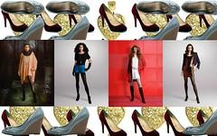Fashion Collage Wallpaper
