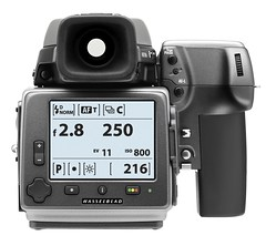 Hasselblad H4D-60 Info Screen