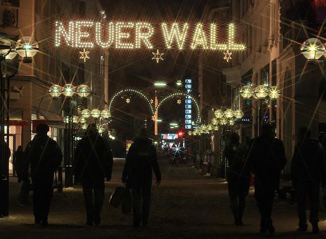 Hamburger Weihnachtsmarkt Rathausmarkt