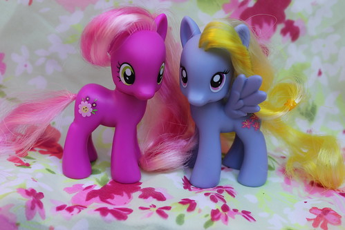 Cheerilee and Lily Blossom