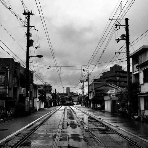 雨降り。 #rainy #iphonography #instagram