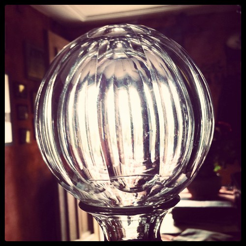 Morning #light through the #glass #ball by tai-nui, on Flickr