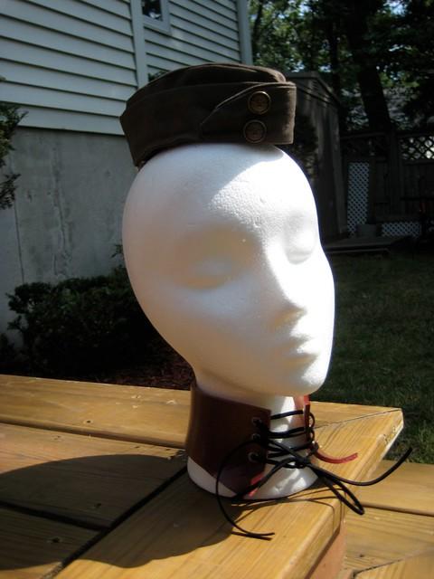 Free Pattern: Mini Garrison Hat