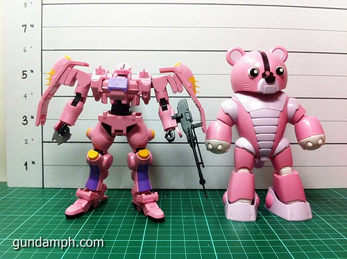 HG 144 Tieren Taozi Review OOB Build (31)