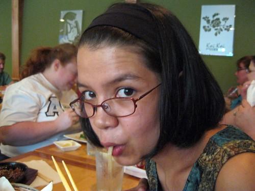Slurping Udon Noodles #2