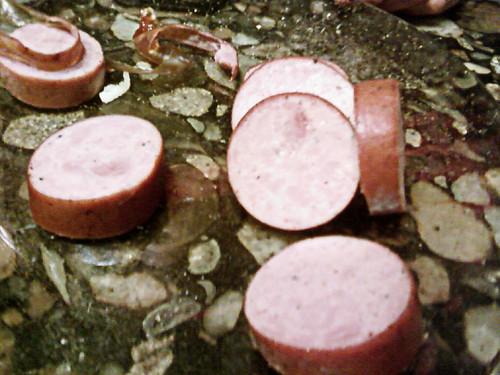 Sausage on the Countertop by Karyn Ellis