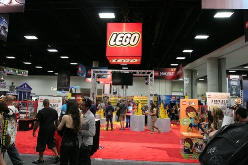LEGO Booth - San Diego Comic Con