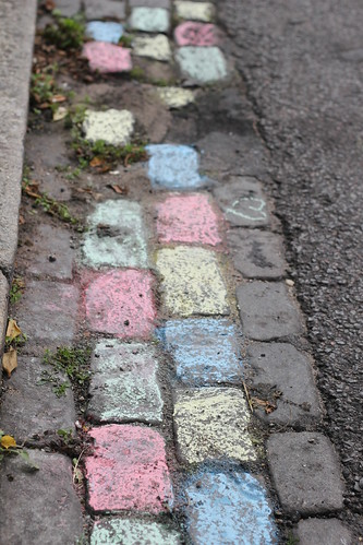 Chalked cobbles