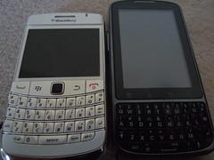BlackBerry Bold 9780 & Motorola Droid Pro
