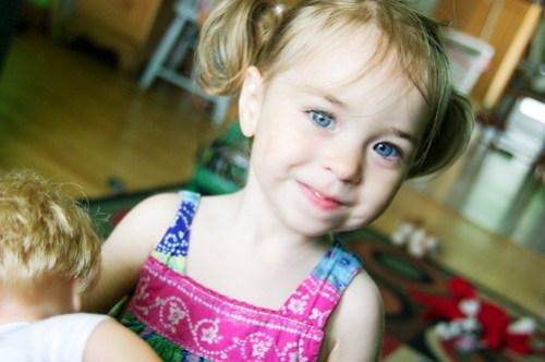 My little girl is back :)