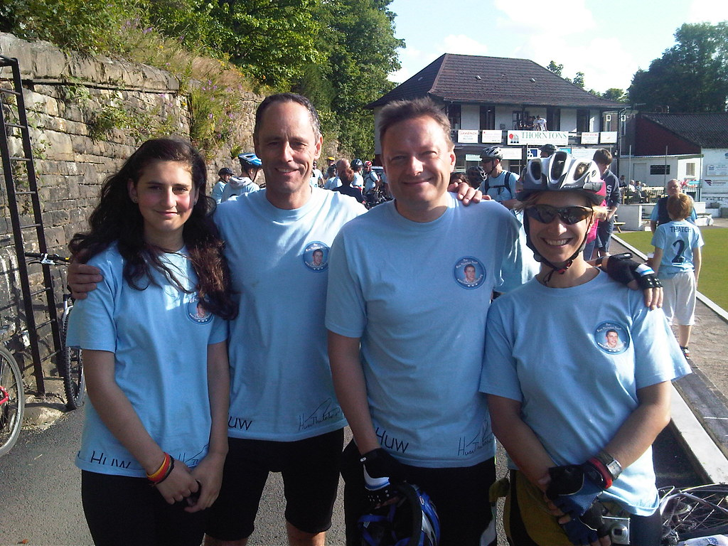 Huw Thatcher Trust Cricket Cycle Challenge