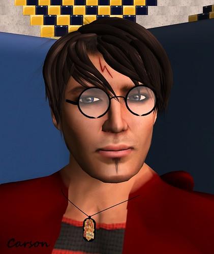 DLaW - Ligntning Bolt Scar   Skip to my Lou - Potter Glasses   Odds 'n' Ends Gryffindor Pendant
