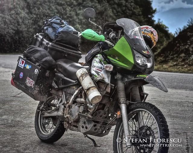 KLR 650 Trip Ecuador 64
