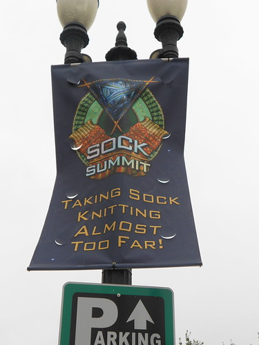 Sock Summit signs