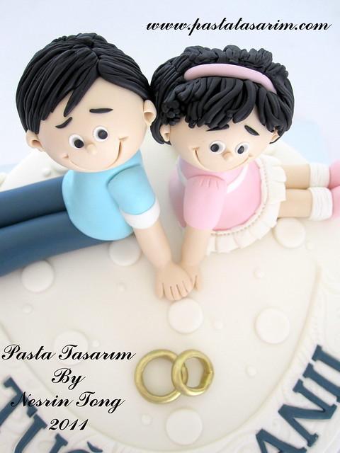 WEDDING CAKE - TUGCE&ANIL