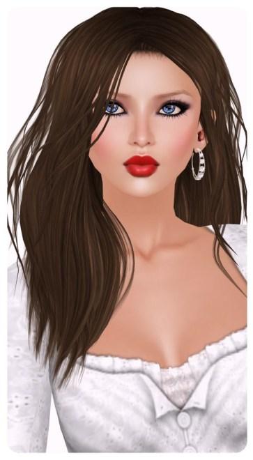 [LeLutka]-LOOSE hair/Dark Brunette