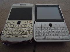 BlackBerry Bold 9780 & Huawei U8300