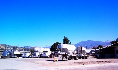 truck stop. by sageandpaperclip