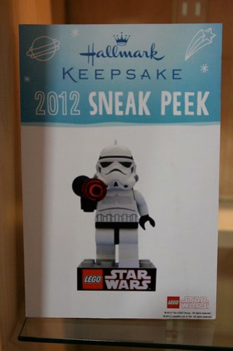 Hallmark LEGO Stormtrooper Ornament For 2012