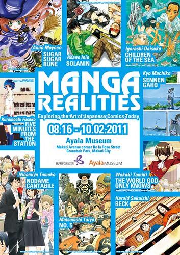 Manga Realities: The Art of Japanese Comics Today