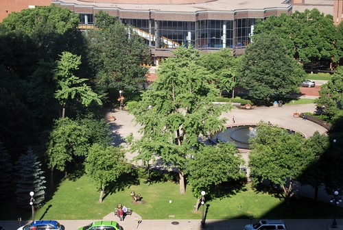 Rice Park (oblique aerial)