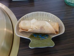 Macleod Sushi & BBQ (visit 2) - pix 02 - spring roll