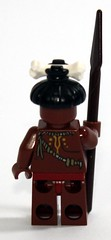 Back of the Cannibal Minifig