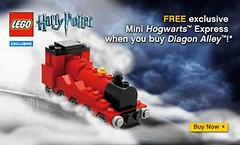 Free MINI Hogwarts Express with Purchase of Diagon Alley