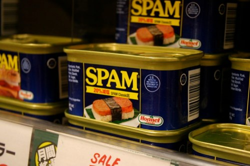 "Spam ""sashimi"""