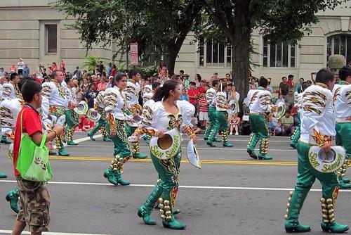 San Simon Parade Group Washington DC