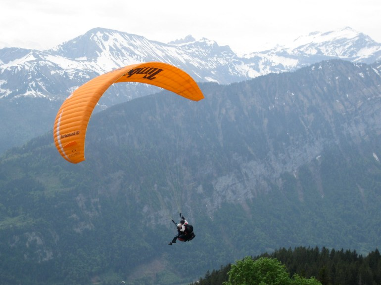 Paragliding in Interlaken, Switzerland by abucska, on Flickr