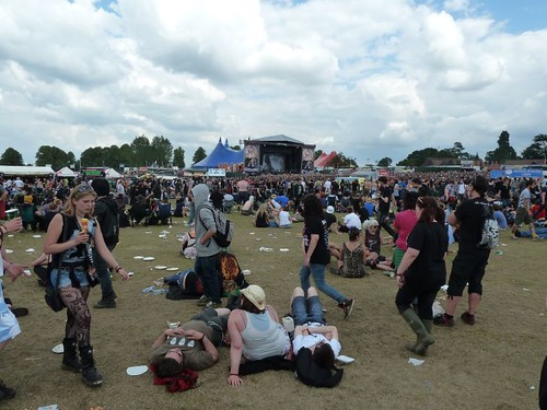 Sonisphere Knebworth Crowd 2011