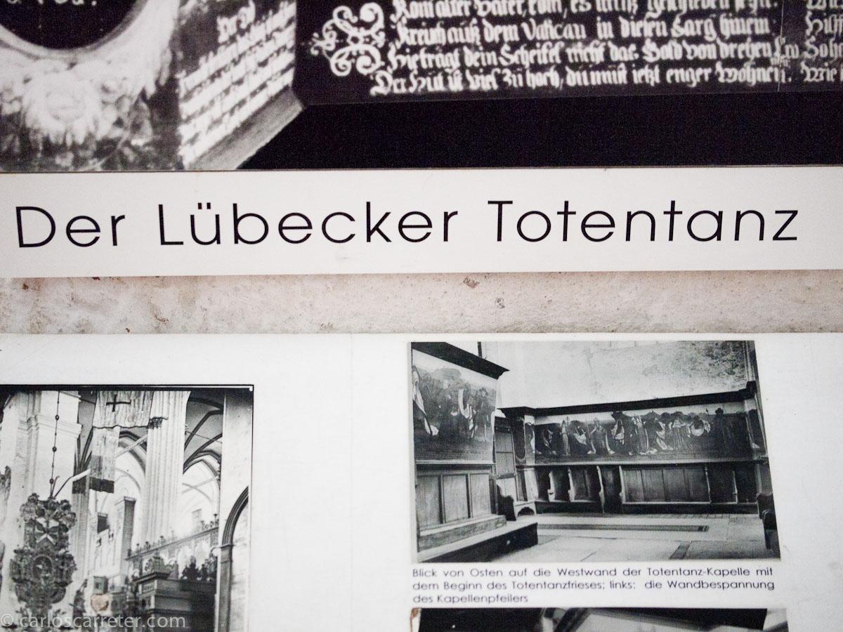 Recuerdo a la danza de los muertos de Lübeck (Marienkirche)