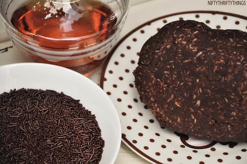 {homemade rum truffles}