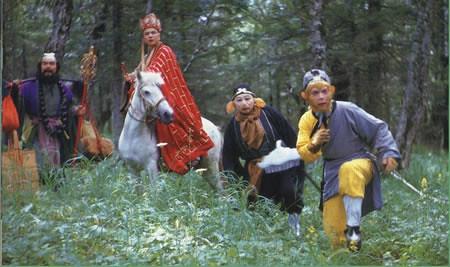 """西游记 (1986年电视剧) - 1986 China-made TV version of """"Journey to the West"""""""