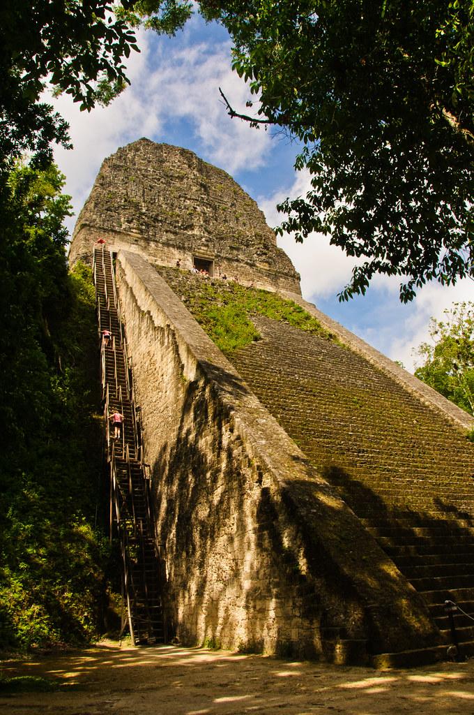 Temple V, Tikal - the tourist route