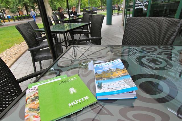Hütte Café, Budapest, Hongrie