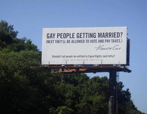 Kenneth Cole on gay marriage