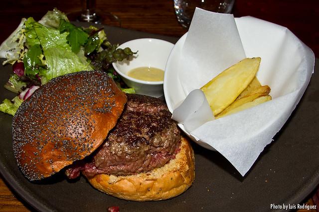 Gastrohamburguesa gourmet de ternera gallega