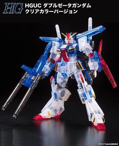 ZZ Gundam {Expo 2010 Clear} (1)