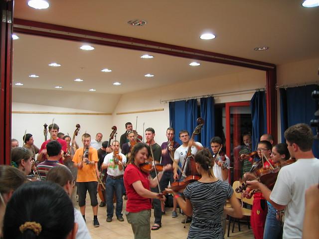 20th Méta Folk Music and Folk Dance Camp / XX. Méta Népzenei és Néptánc Tábor 2011, Dinnyés (161)