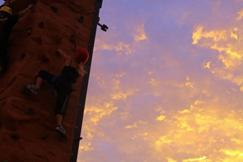 Princess Rock Climbing